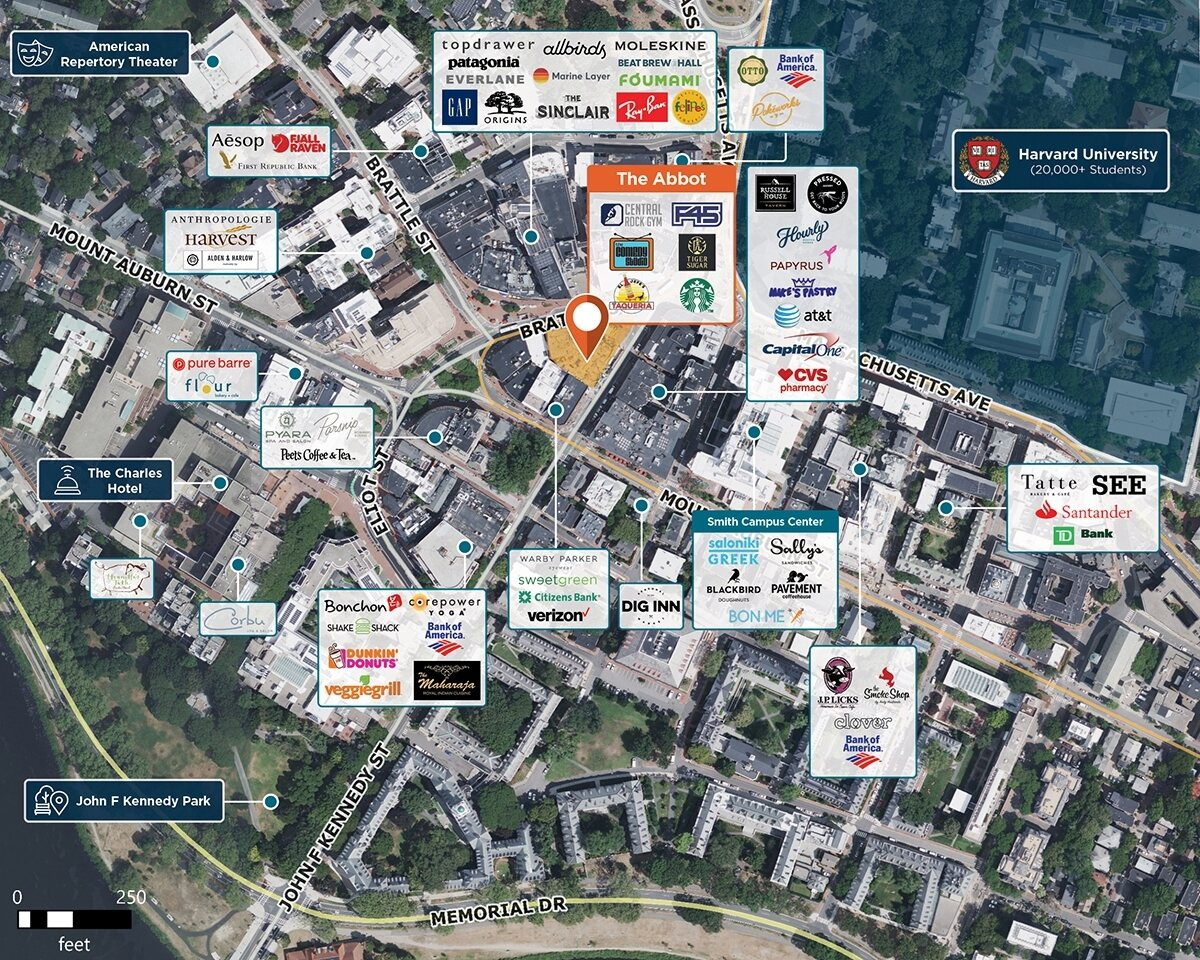 The Abbot Trade Area Map for Cambridge, MA 02138
