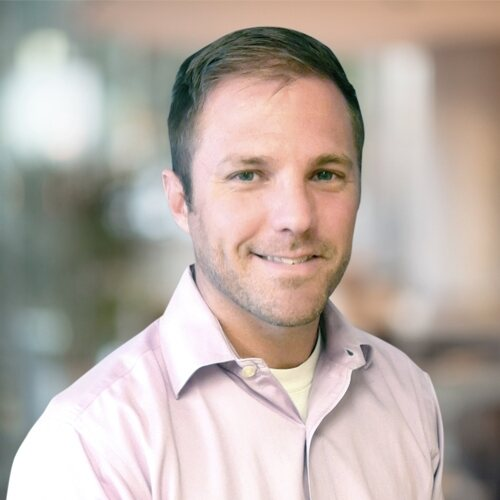 Portrait of Nathan Bath, Senior Manager of Investments for Regency Centers.
