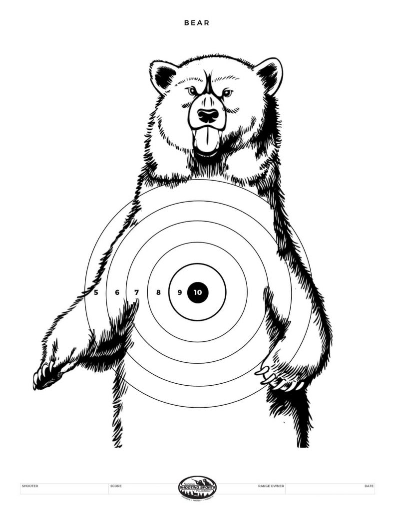 Printable Shooting Targets And Gun Targets Nssf