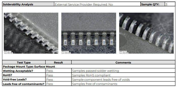 GCAT-Solderability-Sample-Report