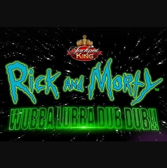 Rick and Morty Wubba Lubba Dub Dub Jackpot King