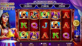 Mistress of Egypt: Diamond Spins Slot