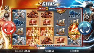 2 Gods: Zeus vs Thor  Slot