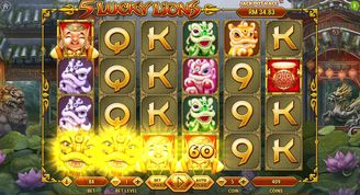 5 Lucky Lions Slot