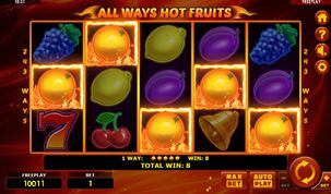 All Ways Hot Fruits  Slot