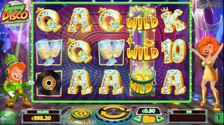 Barry The Disco Leprechaun Slot