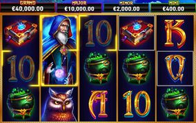 Blue Wizard Slot