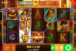Books and Temples Slot