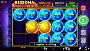 Buddha Fortune Hold and Win Slot