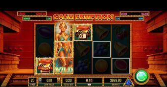 Cash Eruption  Slot