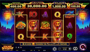 Golden Wisdom Golden Cash  Slot