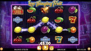 Low Hanging Fruit  Slot