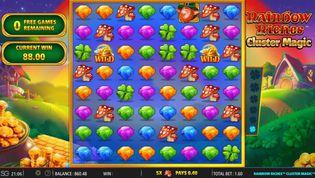 Rainbow Riches Cluster Magic Slot