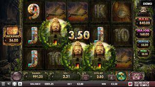 Secrets of the Temple Slot