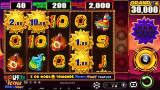 South of the Border  Slot