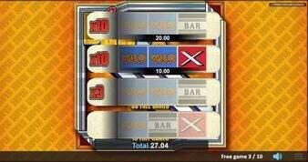 Super Bar X Pull Tab  Slot
