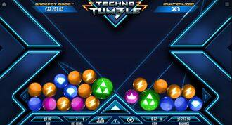 Techno Tumble  Slot