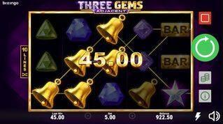 Three Gems Adjacent Slot