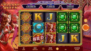 Volcano Queen Diamond Spins Slot