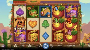 Willy's Hot Chillies  Slot