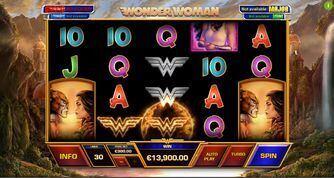 Wonder Woman Playtech Slot