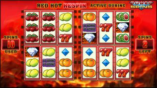Red Hot Repeater: Power Spins Slot