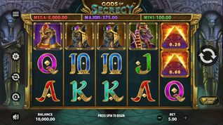 Gods of Secrecy Slot