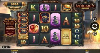 Moriarty Megaways Slot