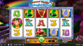 Rainbow Riches: Midnight Magic Slot