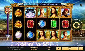 Quadruple Da Vinci Diamonds Slot