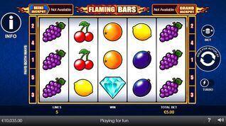 Flaming Bars Slot