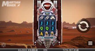 Martian Miner Infinity Reels Slot