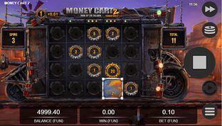 Money Cart 2 Bonus Reels Slot