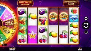Hot Spin Megaways Slot
