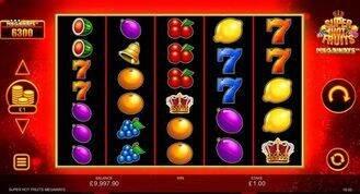 Super Hot Fruits Megaways Slot