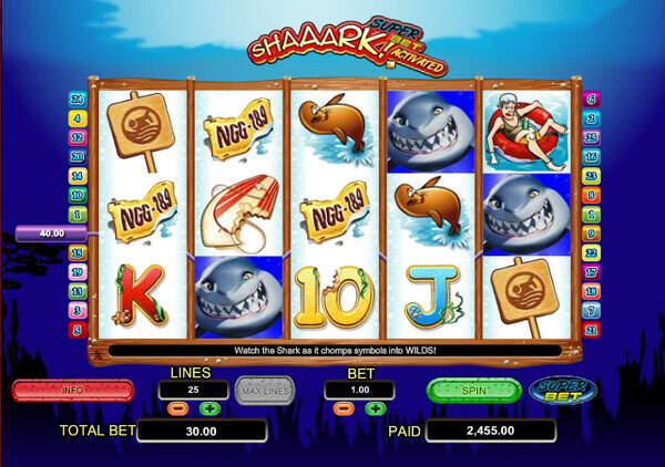 Shaaark! Super Bet Slot