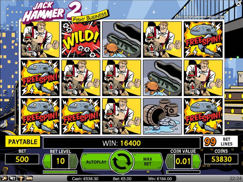 Jack Hammer 2 Fishy Business Slot