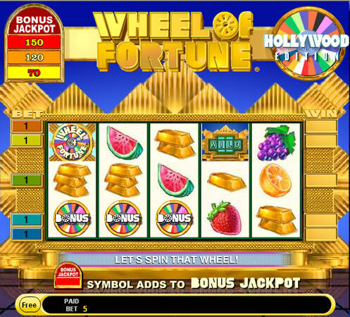 Wheel of Fortune Hollywood Edition Slot