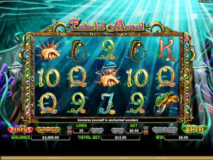 Enchanted Mermaid Slot