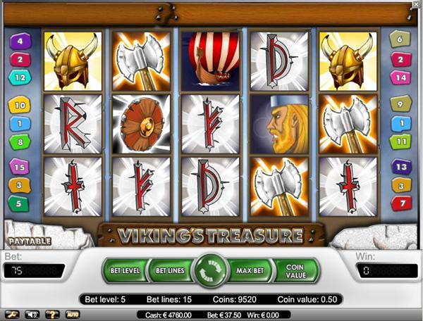 Vikings Treasure Slot