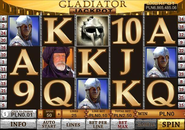 Gladiator Jackpot Slot