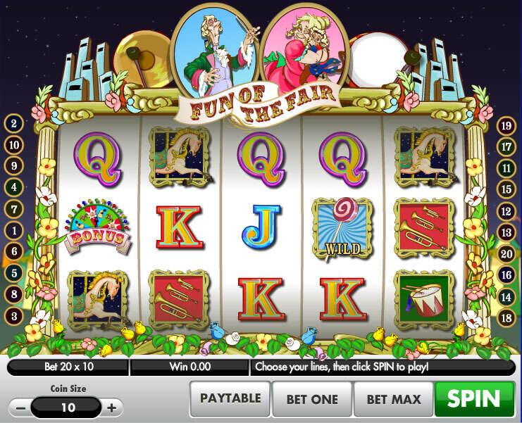 Fun Of The Fair Slot