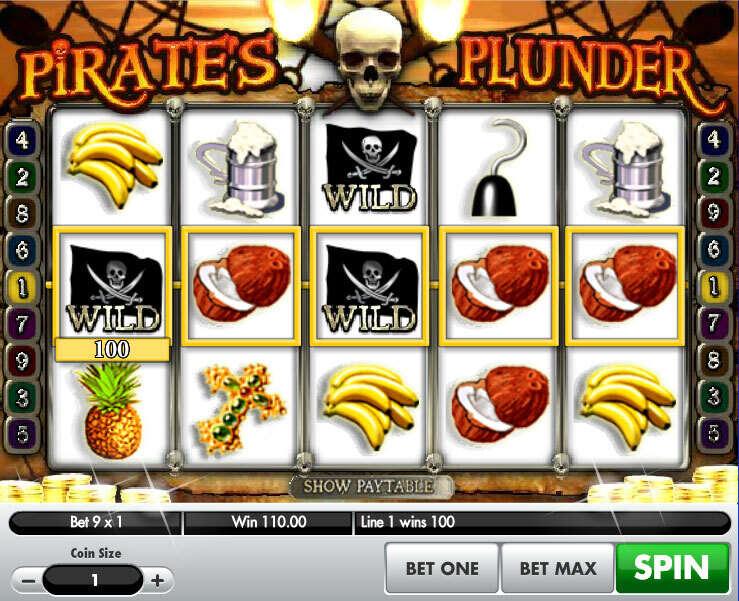 Pirates Plunder Slot