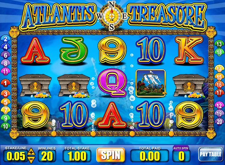 Atlantis Treasure Slot