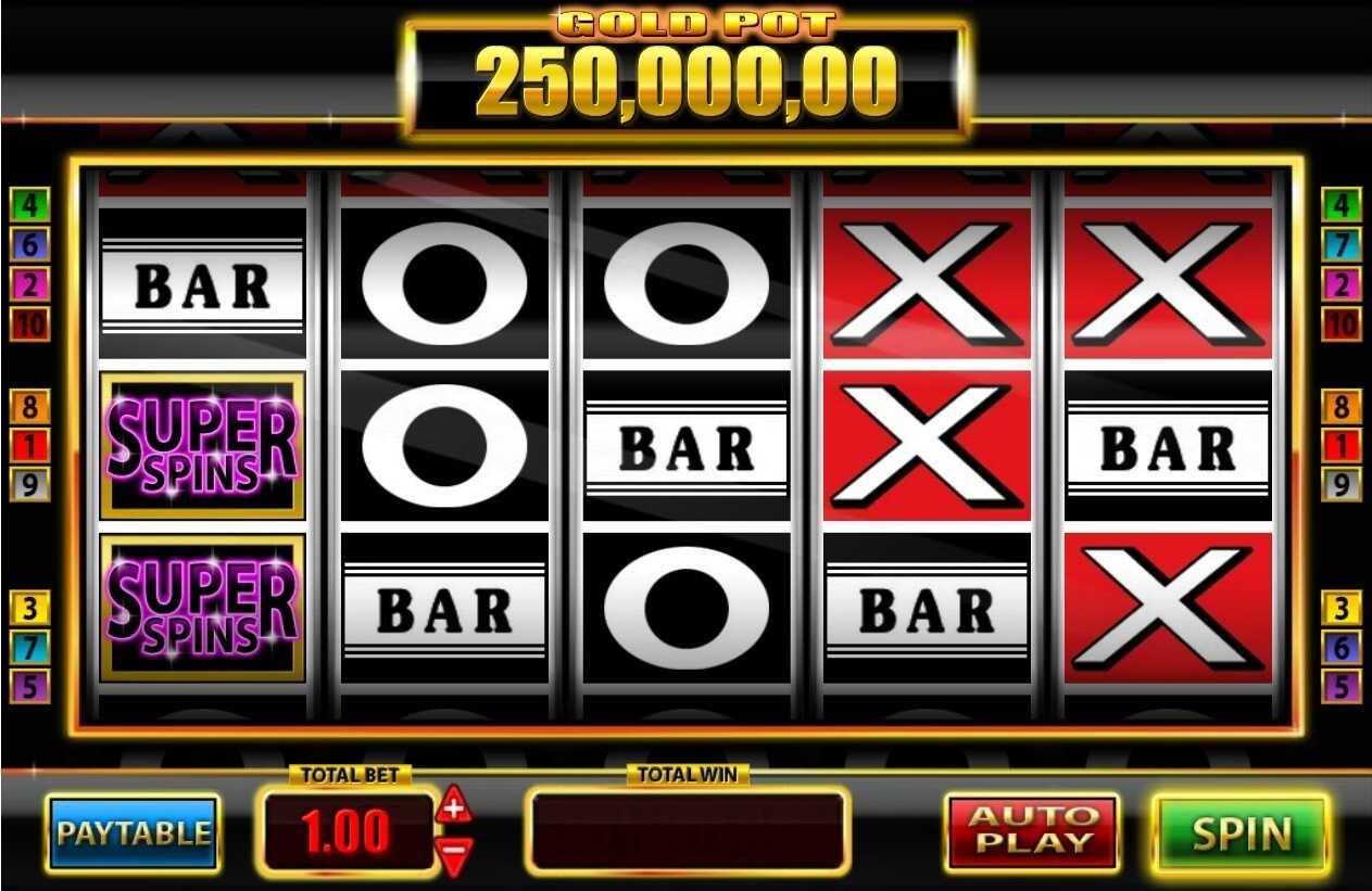 Super Spins Bar X Gold Slot