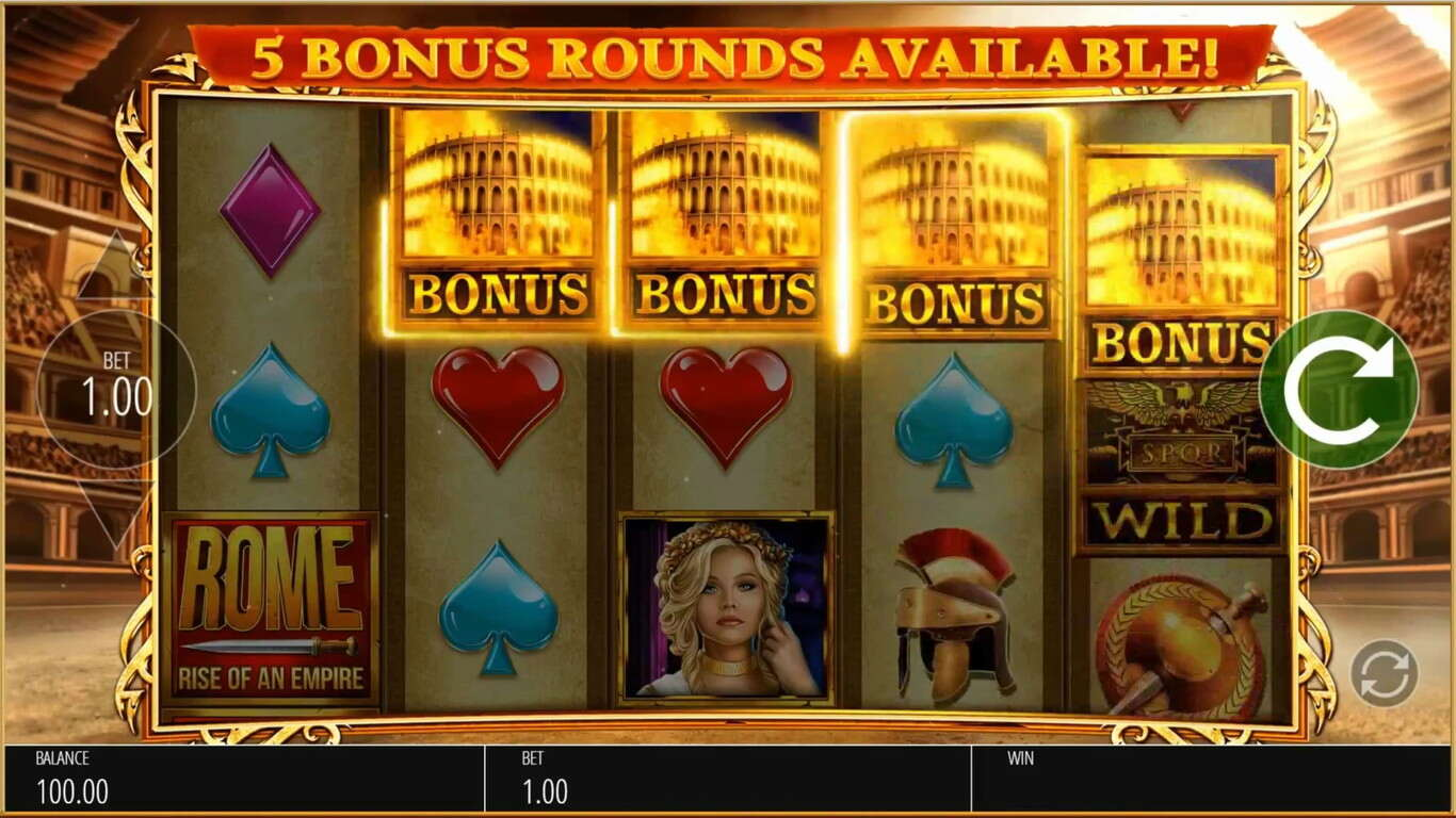 Rome: Rise Of An Empire Slot