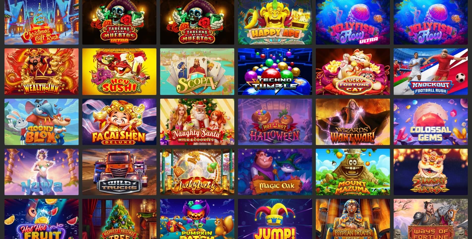 habanero gaming slots