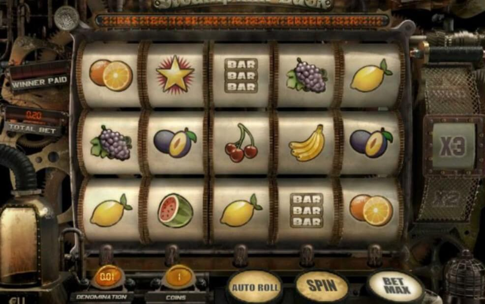 steampunk luck slot