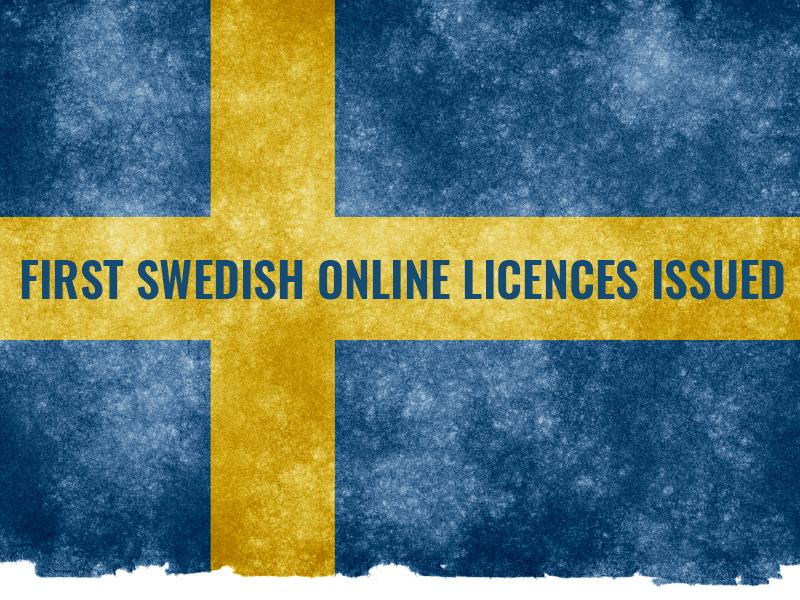 Swedish Authorities Issue Online Casino Licences