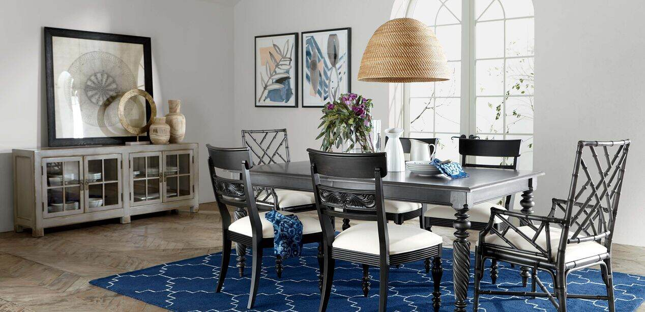 Livingston Dining Table Tables, Ethan Allen Dining Room Chairs